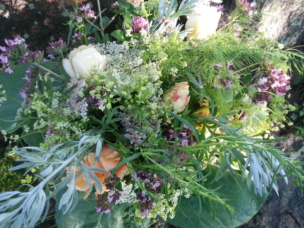Lass Blumen sprechen – mit einem essbaren Strauß