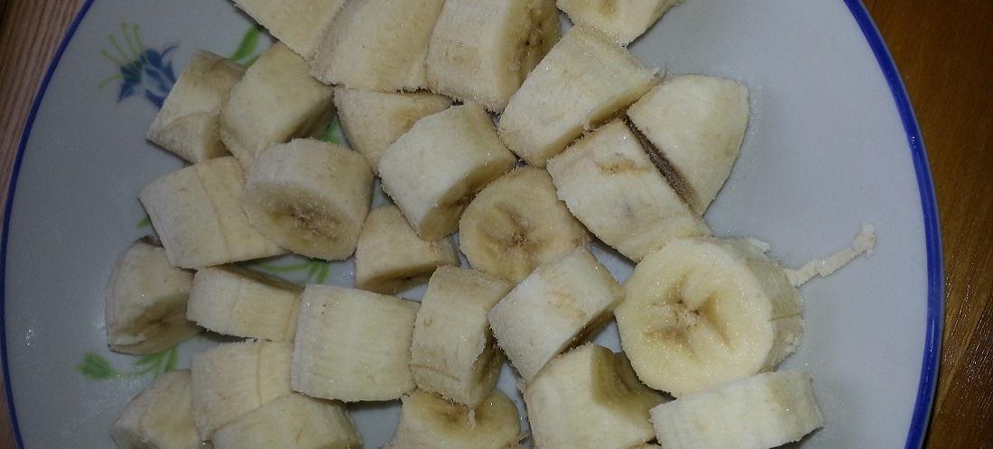 Gefrorene Bananen für köstliches Rohkost-Eis