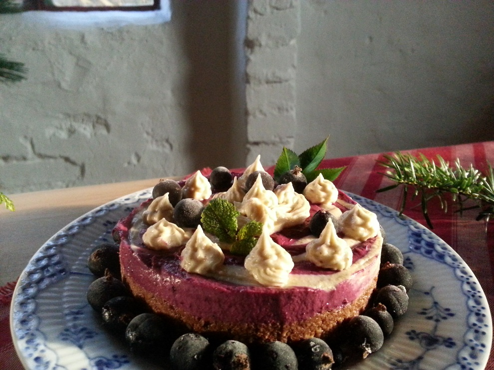 Neujahrs-Torte in The Raw Kitchen