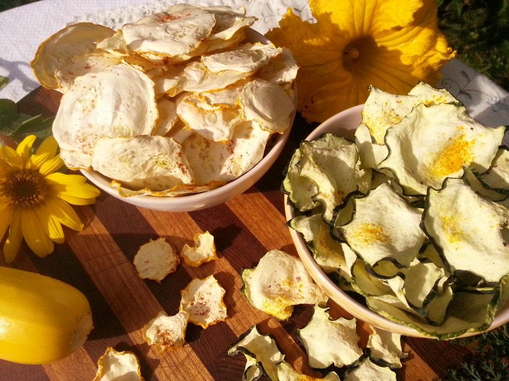 Kann man denn zu viele Zucchinis haben, wenn man daraus so einfach und schnell diese köstlichen raw Zucchinichips herstellen kann?