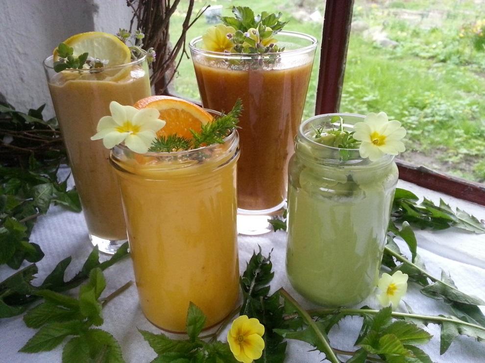 4 einfache Dressings für deinen Wildkräuter-Salat