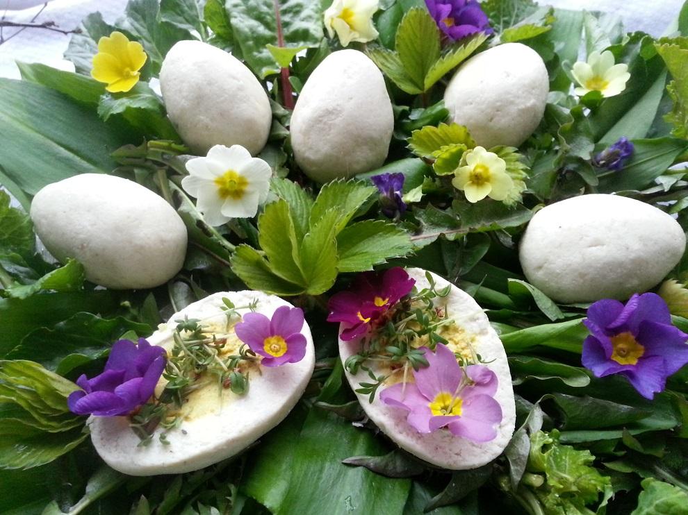 An Ostern: Rohkost und roh-vegane Ostereier