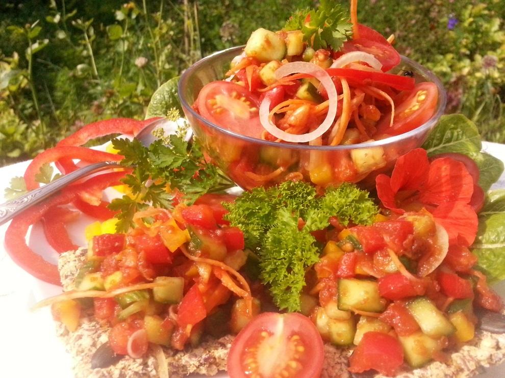 Pikanter Puszta-Salat