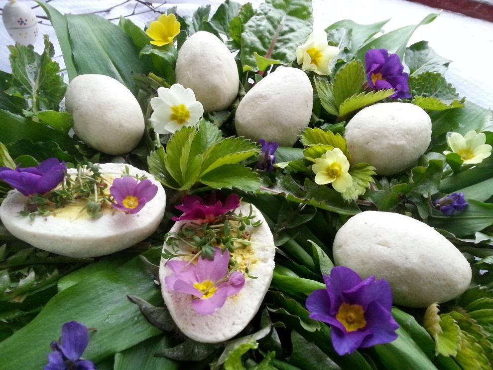 Ostern roh-vegane Ostereier