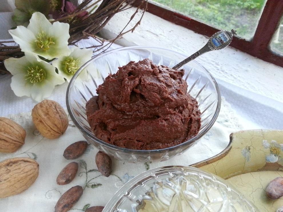 Rohkost Nutella-Ersatz laktosefrei Omega 3-Fettsäuren